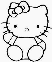 Hello Kitty coloring page is the answer. Hello Kitty coloring page for girls Cama Da Hello Kitty, Hello Kitty Lit, Images Hello Kitty, Hello Kitty Birthday, Hello Hello, Easy Coloring Pages, Coloring Pages For Girls, Cartoon Coloring Pages, Disney Coloring Pages