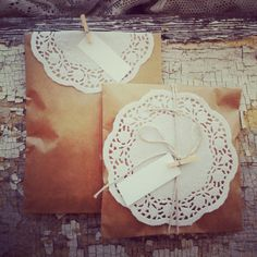 Wedding Favor Bags  Gift Wrap Set  Set of 80  by frenchmarket, $50.00
