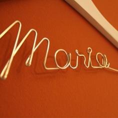percha personalizada UBOshop Neon Signs, Ideas, Personalized Hangers, Wedding Inspiration, Thoughts