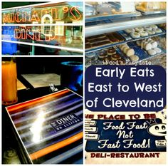 Early Eats East to West in Cleveland  #thisiscle #atozchallenge #Cleveland