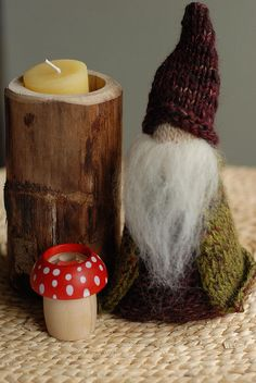 ninsi. waldorf is creepier and cooler than ever. gimme this gnome.