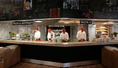 Matteo Thun & Partners : Interior design : Vapiano dining concept