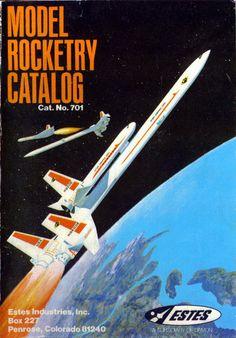 Estes model rocket catalog!!!!!