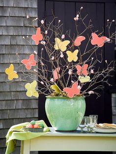 Borboletas e mais borboletas - *Decoração e Invenção*