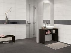 20 refined gray bathroom ideas design and remodel pictures ... - Badezimmer Fliesen Taupe