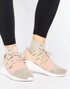adidas Originals Pink Tubular Doom Sneakers