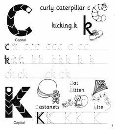 Jolly Phonics Workbook 2 (c-k-e-h-r-m-d) Phonics Chart, Phonics Worksheets, Phonics Books, Letter Worksheets, Phonics Reading, Kids Reading, Reading Comprehension, English Grammar For Kids, English Phonics
