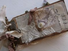 tiny french inspired tag book by TIna Jensen