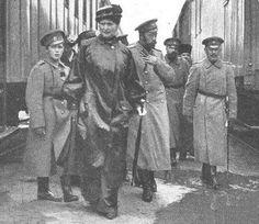 Tsarevich Alexei, Empress Alexandra and Tsar Nicholas II