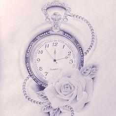 Resultado de imagen para rosas dibujos tattoo
