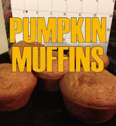 Pumpkin Muffin  Recipe - Cooking with The Vegan Zombie - YouTube