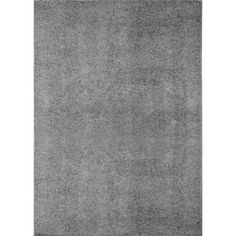 Nicole Miller Designer Area Rugs: Synergy 1010-451 Gray Contemporary Solid Rug: 9