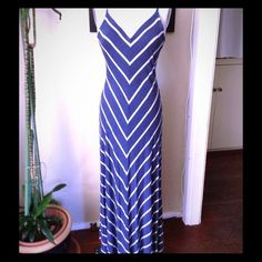 Shop Women's Max and Mia Blue Cream size XS Maxi at a discounted price at Poshmark. Description: This striped dress really speaks for itself, the diagonal lines flatter any silhouette, and moves seamlessly. The fabric is soft yet thick, weighing the end down nicely. Adjustable straps for a perfect fit. The third picture is of the back. And it's made in the USA! PS. The tag reads XS but fits small/medium just as well!. Sold by boonch. Fast delivery, full service customer support.