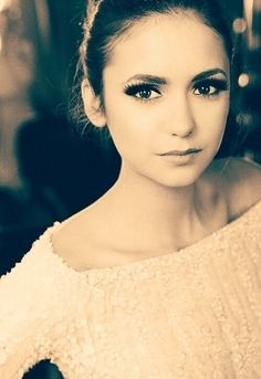 Nina Dobrev, she's so gorgeous! Love herXx The Vampire Diaries.....