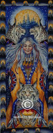 Grand Mother by Marjett Schille Native American Spirituality, Native American Wisdom, American Indians, Avatar, Maiden Mother Crone, Totems, Western Art, Native Americans, Spirit Animal