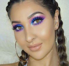 Magical mermaid-like look, try this eye makeup. #eyemakeup  #Makeup