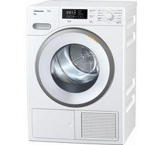 MIELE TMB640 WP Heat Pump Condenser Tumble Dryer - White