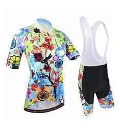 COLOURFUL FUN Women s Cycling Biking Designer Shorts Jersey Set + FREE  Worldwide Shipping! Get Your 22cb5b657