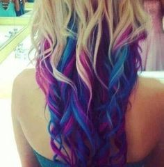 Purple and blur tips!Presley i can see this om both of us!
