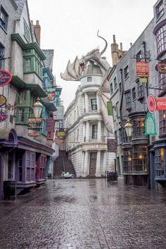 Diagon Alley Visiting Harry Potter World Plan Orlando Florida