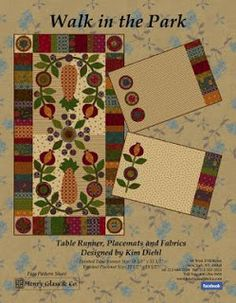 Bountiful Heirlooms: Free Patterns From Fabric Manufacturers