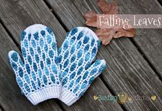 Stacey of Busting Stitches is the designer and pattern writer for these lovely mittens. Several really terrific mitten patterns were designed during the Charity Mitten Drive last year.  The stitch pattern here is what immediately caught my eye. I thought at first that this was a side-to-side p