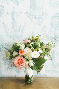 Romantic garden inspired bouquet