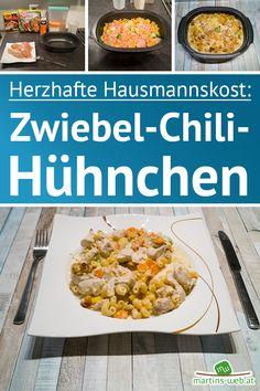 Was gab es heute bei dir zu Mittag? Hier gab es ein leckeres Zwiebel-Chili-Hühnchen mit Gemüse und Nudeln. Köstlich, herzhaft und man wird sicher satt. Das Rezept habe ich dir schon auf meinen Blog gestellt. [Werbung da Markennennung, selbst gekauft] #hühnchen #huehnchen #chili #herzhaft #kulinarisch #hausmannskost #familienessen #familienküche #einfacherezepte #ultrapro #ultraprorezept #tupperware #tupperwareproducts #instafood #foodporn Maggi Fix, Food Porn, Tupperware, Chili, Vegetables, Blog, Grated Cheese, Souffle Dish, Noodles