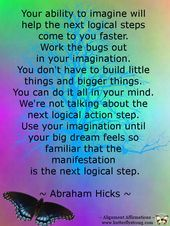 Law Of Attraction - Abraham-Hicks quote. - Are You Finding It Difficult Trying To Master The Law Of Attraction?Take this 30 second test and identify exactly what is holding you back from effectively applying the Law of Attraction in your life. Mantra, Positive Vibes, Positive Quotes, Abraham Hicks Quotes, Attraction Quotes, Secret Law Of Attraction, In This World, Me Quotes, Famous Quotes