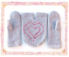 Mittens for lovers - Jewelry & Accessories - Rukodelnichaem - Inhabitant: to be a woman - it's fun!