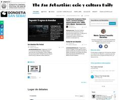The San Sebastián: ocio y cultura Daily por Maria Teresa Fresnillo Beneitez