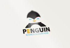 Penguin Logo by fastudiomedia on Creative Market