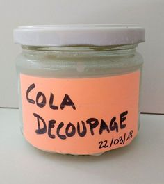 Receta de Pegamento para Decoupage (Mod Podge) casero low cost – De Norte A Sur Diy And Crafts, Paper Crafts, Foto Transfer, French Cafe, Decoupage Vintage, Cola Decoupage, Decoupage Canvas, Pasta Flexible, Cold Porcelain
