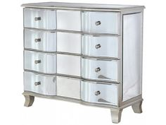 Venetian Bow Front 3 Drawer Chest £638.00