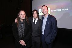 Greg Nicotero and Norman Reedus attend the AMC Ad Sales Event on March 23, 2015.