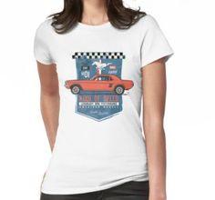 """Ford Mustang - King Of Speed"" Grafik T-Shirts von SAVALLAS | Redbubble"