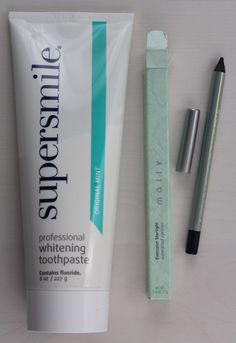 new-beauty-test-tube-jan-2016-supersmile Supersmile Professional Whitening Toothpaste in Original Mint – SUPERSIZE! Retail Value $40 Mally Evercolor Starlight Waterproof Eyeliner in Sailor – FULL SIZE! Value $18
