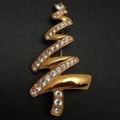 Christmas Tree Pin, Monet