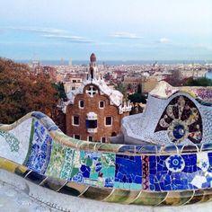 Parq Güell. Gaudí. Barcelona
