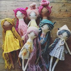 Forest Creature Dolls – dollmakers