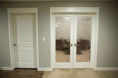 Rain Glass For Pantry Pocket Door