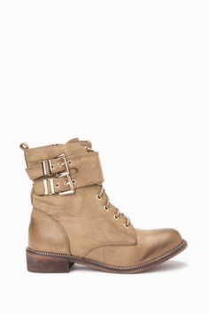 Lace Up Ankle Boots With Buckle Strap  http://jessyss.com/shoes/ankle-boots/1306501712.html?barva=