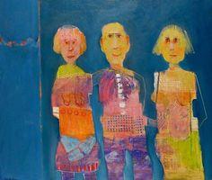 Mel McCuddin, The Bigamist 2013, oil on canvas