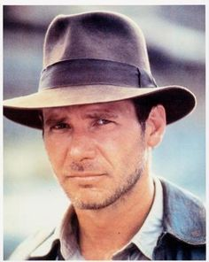 "Young Harrison Ford...the reason I own the first 3 Indiana Jones movies.  In that crappy excuse of a 4th installment, Short Round should have popped up and said, ""Too wrinkly for onscreen love, Dr. Jones""."