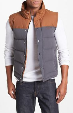 Patagonia 'Bivy' Down Vest available at #Nordstrom