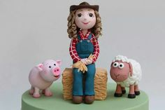 Farm Cake Topper
