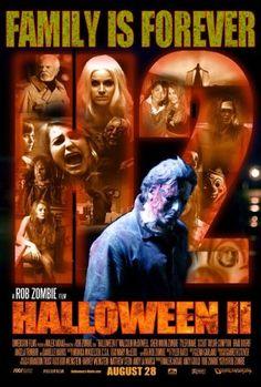 Halloween II (2009) movie poster (US)