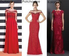 vestido de festa vermelho madrinha formanda
