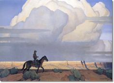 western-americana-landscape-southwestern-american-art-by-maynard-dixon-desert-journey-1935-30-x-40-approximate-size-of-original-in-inches.jpg 500×363 pixels