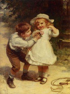 William to Marian? :-) @Melissa Niednagel   Frederick Morgan: Sweethearts